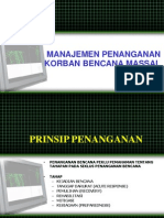 Manajemen Korban Bencana Massal Ppk08. 1