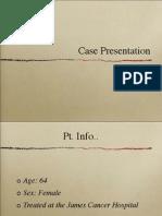 case presentation lung