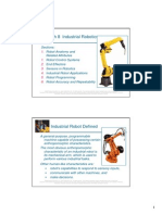 Me 445 Groover Ch8 Industrial Robotics