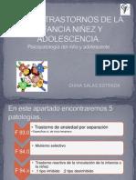Trastornos de La Infancia Ninez Adolescencia (1)