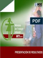 INEGI ENOE Presentación de resultados 2011