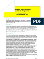 Reasoning about systems and their properties