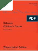 Debussy Children's Corner Wiener Urtext 1