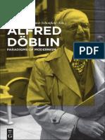 DAVIES, Steffan. Alfred Doblin - Paradigms of Modernism