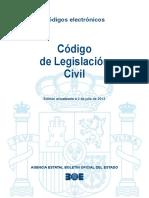 BOE-006 Codigo de Legislacion Civil