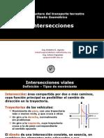 Diseño Geometrico de Intersecciones