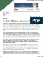 La Jornada, Los dueños del planeta. Corporaciones 2005, 2005-12-31, Ribeiro, Silvia