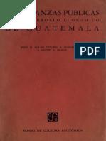 Olson - Las finanzas publicas y el desarrollo económico de Guatemala