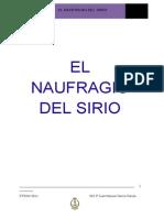 El naufragio del Sirio GM1º JM Garcia Garcia