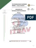 Investigacion Unidad 3 Modelo Relacionall