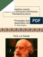 01 - Perls y La Gestalt