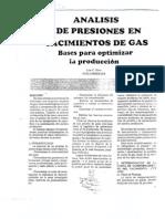 Análisis de Presiones Yac. Gas - Luis Kinn