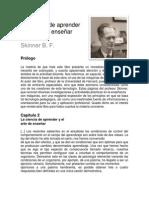 1025606412.Skinner B F La Ciencia de Aprender