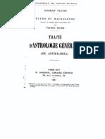 Astro - Picatrix - Robert Fludd - Traite dAstrologie Generale