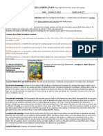 edps  5350 comprehension lesson plan
