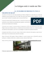 Casa de Vilanova Artigas está à venda em São Paulo