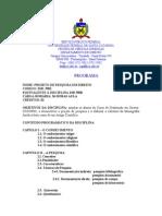 DIR5901 - Projeto de Pesquisa em Direito.doc