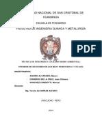Informe de Salida a Campo 2014