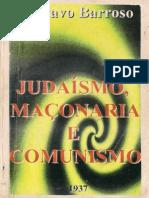judaísmo,  maçonaria e comunismo - gustavo barroso