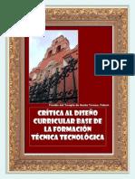CRÍTICA AL DISEÑO CURRICULAR DE FORMACIÓN PROFESIONAL