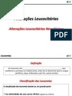Alterações Leucocitárias - Neoplásicas