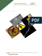 Acidentes de Origem Eletrica Em Portugal
