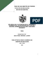 tesis invstigacion-influencia del autoestima en estudiantes.doc