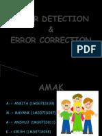 Error Detection (1)(4)
