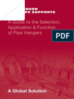 A Guide to the Selection, Application & Function of Pipe Hangers
