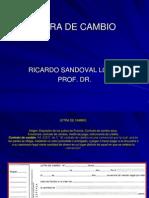 Letra de Cambio Corregida