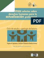 CDHDF, Temas Selectos Sobre Derechos Humanos Para La Actualizacion Profesional