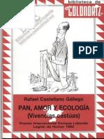 PAN, AMOR, Y ECOLOGÍA  (vivencias castúas) por Rafael Castellano Gallego