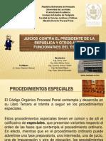 elprocedimientoenlosjuicioscontraelpresidentedelarepblicayotrosaltosfuncionarios-111128084852-phpapp01