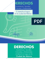 CDHDF EP, El derecho al agua en la ciudad de México