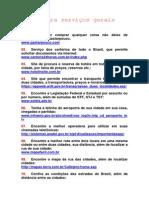 Sites para serviços gerais