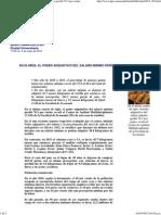 Boletín UNAM, En 25 años, el poder adquisitivo del salario mínimo perdió 76.3 por ciento