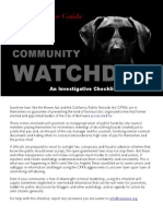 Community Watchdog Guide PDF