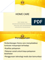 Konsep Home Care for Pelatihan Perkesmas
