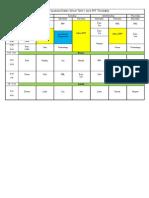 2014 rff timetable
