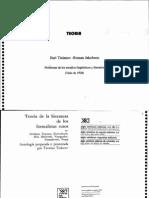 Tinianov y Jakobson Problemas de Los Estudios Linguisticos y Literarios[1] Copia