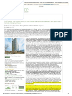 Manitoba Hydro Place, Architect Kuwabara Payne McKenna Blumberg Architects; Smith Carter Architects & Engineers - Green Building and Environmental Project Case Studies - GreenSource Magazine
