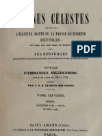 Em Swedenborg ARCANES CELESTES TomeSeptieme Genese XXXI XXXV Numeros 4056 4634 LeBoysDesGuays 1852