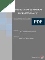 Informe de Practicas Modelo Final