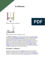 Voltámetro de Hofmann