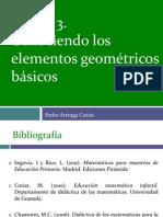 CONOCIENDO LOS ELEMENTOS GEOMÉTRICOS BÁSICOS