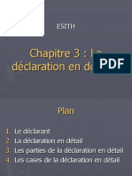 La Declaration en Douane
