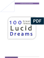 100 Great Ideas for Lucid Dreams