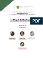 Papel de Trabajo. Epistemología de los principios, valores y derechos universales de la Educación Superior E-learning.