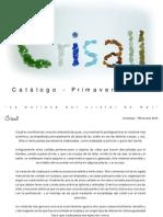 Catálogo Crisall - Primavera 2014