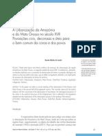 Urbanização na Amazônia e no MG